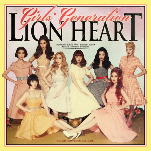 girl's generation - lion heart