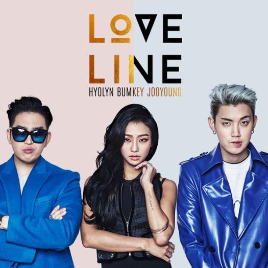 hyorin, bumkey, jooyoung - love line
