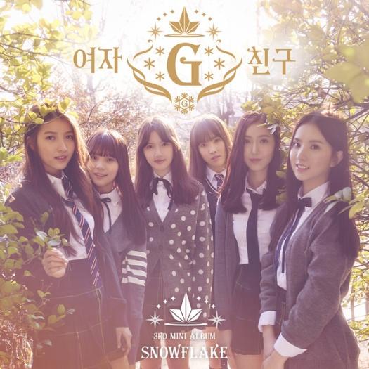 gfriend - 3rd mini album snowflake