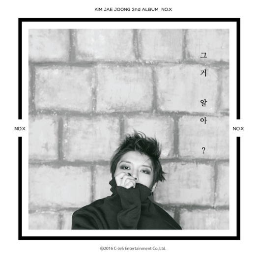 kim jae joong - 2nd album no . x