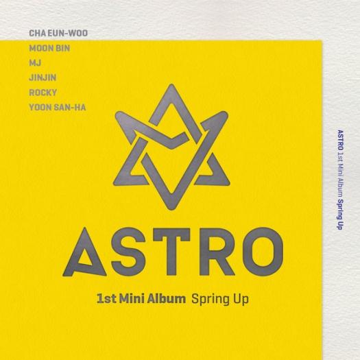 astro 1st mini album spring up