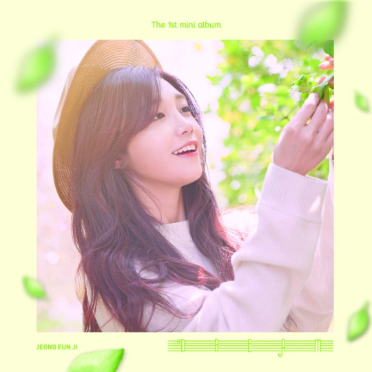 jeong eun ji 1st mini album dream
