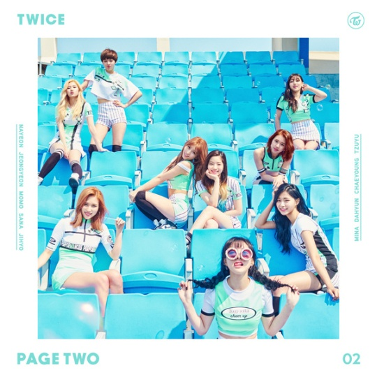 twice 2nd mini album page two
