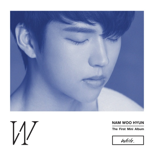 nam woo hyun 1st mini album write