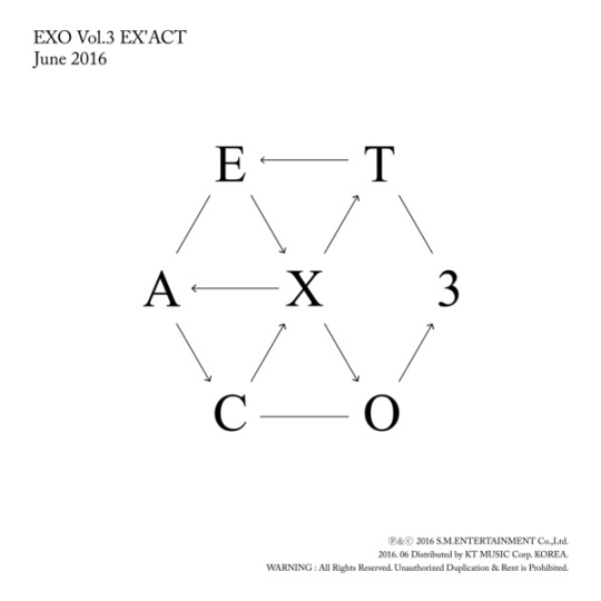EXO Vol 3 EX'ACT