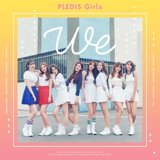 pledis girlz - we