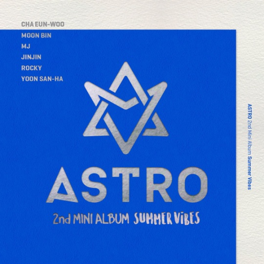 astro 2nd mini album summer vibes